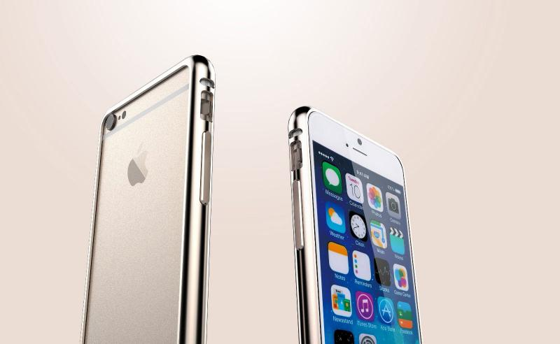 Bumper BASEUS Beauty Arc iPhone 6 Plus / 6S Plus 5,5 / Златен /