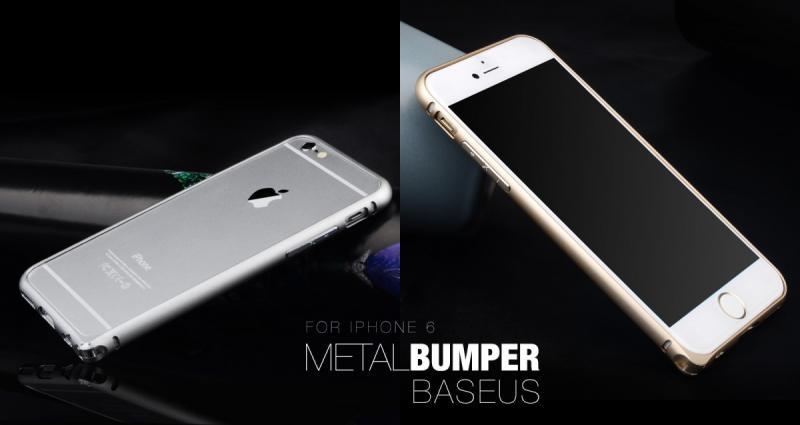 Bumper BASEUS Beauty Arc iPhone 6 Plus / 6S Plus 5,5 / Сив /