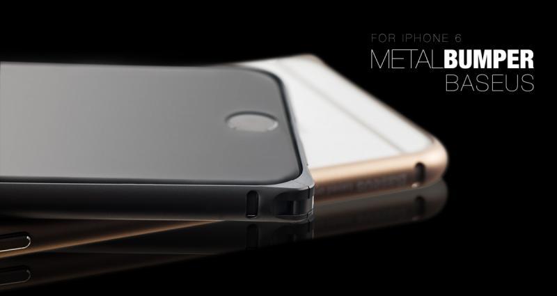 Bumper BASEUS Beauty Arc iPhone 6 Plus / 6S Plus 5,5 / Черен /