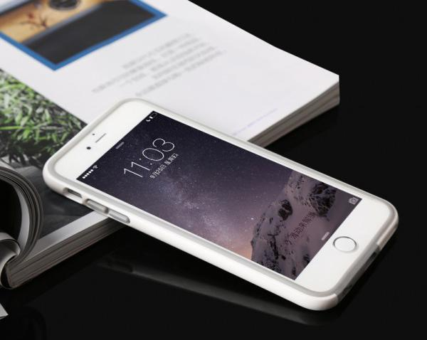 Bumper BASEUS Fanyi iPhone 6 Plus / 6S Plus 5,5 / White Бял /