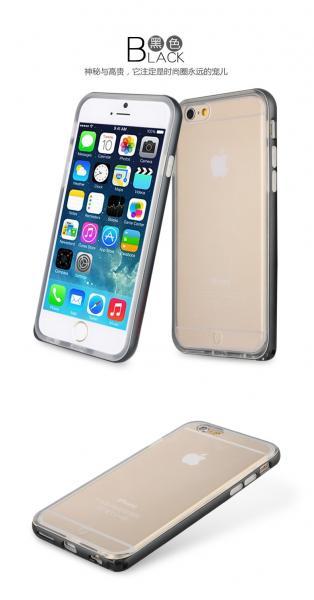 Bumper BASEUS Fusion iPhone 6 Plus / 6S Plus 5.5 / Черен /