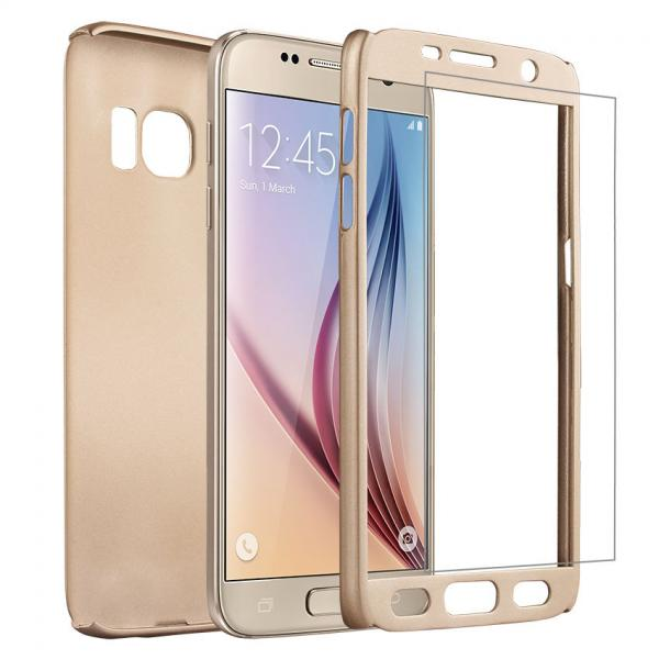 Калъф VORSON Ултратънък 360 SHANG /Златен/ за iPhone 7 Plus / 8 Plus 5.5
