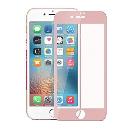 3D Стъклен screen protector за iPhone 6 Plus / 6S Plus 5.5 /Розов/