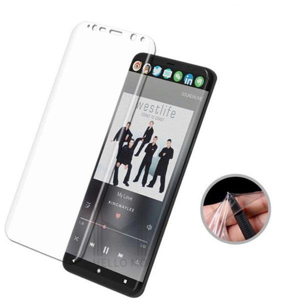 Силиконов скрийн протектор Equiptors / Прозрачен / за iPhone X 5.8`