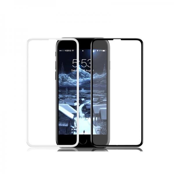 Baseus Стъклен screen protector ZD02 0.23 /Бял/ за iPhone 6 Plus / 6S Plus /7 Plus /8 Plus 5.5
