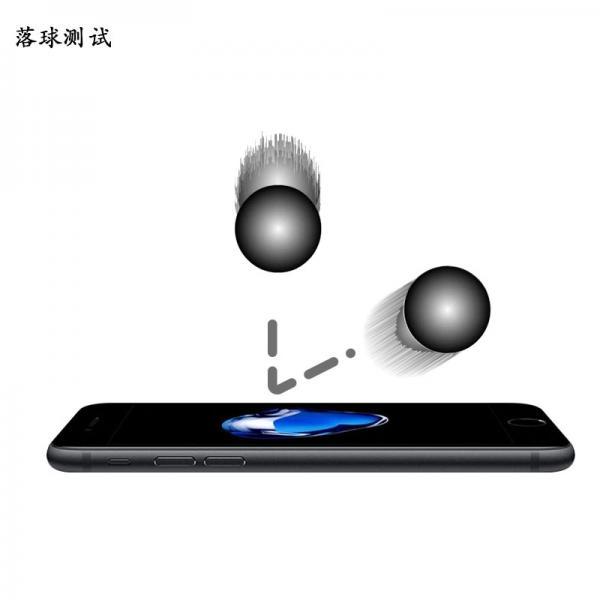 Стъклен screen protector BIG CURVE за iPhone 6 Plus / 7 Plus / 8 Plus 5.5