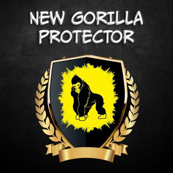 Full Glue NEW Gorilla Стъклен screen protector /Черен/ за Xiaomi Mi A2 Lite