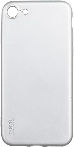 Калъф X-Level Radiance 0.88mm  /Сребърен/ за iPhone 6G / 6S 4.7