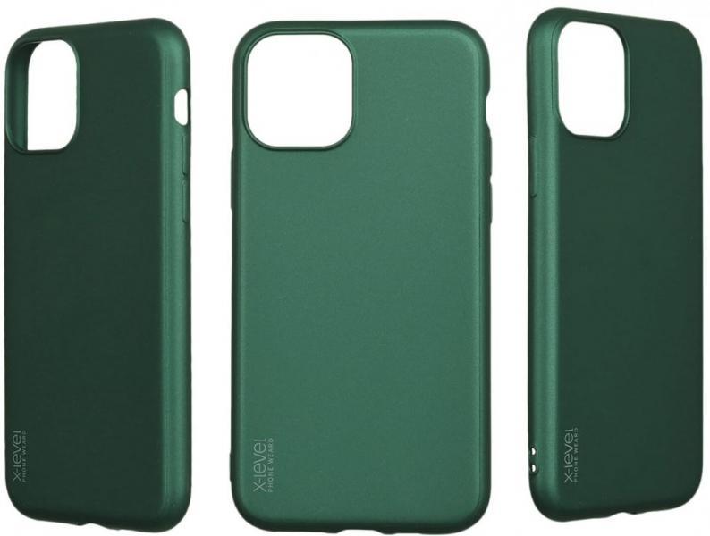 Калъф X-Level Radiance 0.88mm  /Зелен/ за iPhone 6G / 6S 4.7