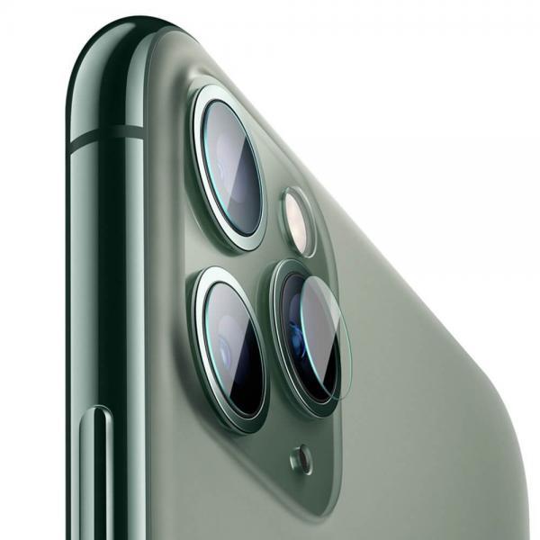 Стъклен screen protector КАМЕРА  BASEUS GEM (2бр.)за iPhone 12 PRO 6.1 / 12 PRO MAX 6.7