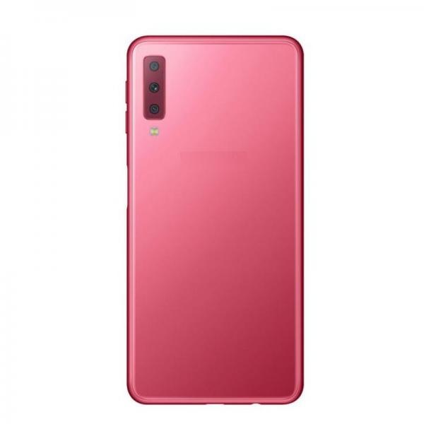 Капак батерия за SAMSUNG Galaxy A7 2018 / A750F / Розов /